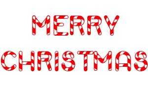 Merry Christmas candycane