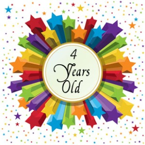 4 year blogoversary